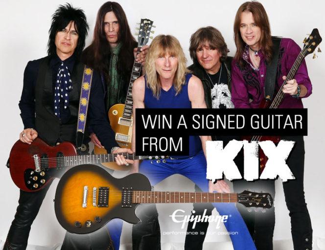 Kix Kix Win A Signed Guitar Contest Ending Soon